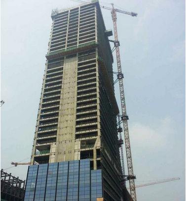 苏州现代传媒广场主体结构封顶