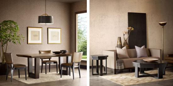在简单安静的设计下推陈出新,演绎出一幕幕家居空间的风雅颂.