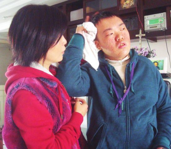 智障儿童洗脸流程步骤ppt