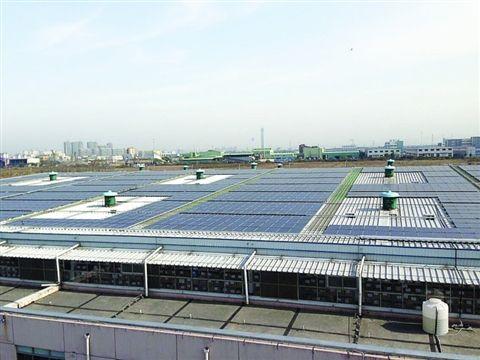 厂房屋顶建发电厂